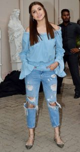 anushka sharma in double denim