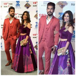 Kishwer Merchant and Suyyash Rai
