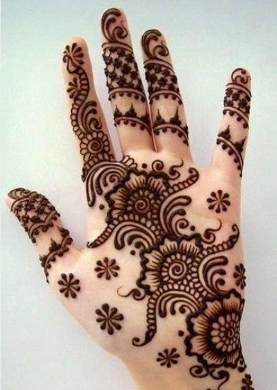 Mehndi Hairstyles Uk : Best floral mehendi designs for hands and feet
