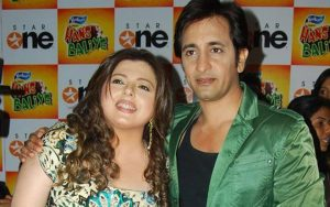 Delnaaz Irani and Rajeev Paul