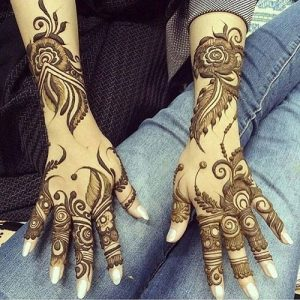 21 Best Arabic Mehendi Designs For Festive Season 2018