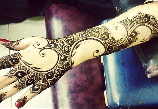 beatiful for bride-mehndi-design