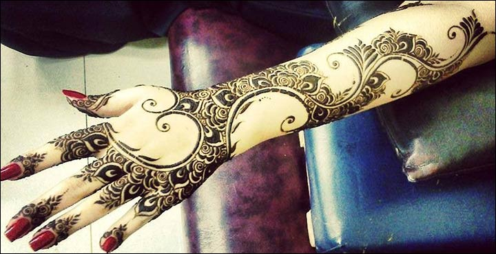 Arabic Mehndi Designs For Hand : Best arabic mehendi designs for festive season
