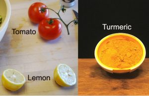 Lemon, Tomato and Turmeric
