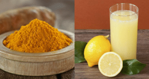 Lemon, Turmeric and Milk