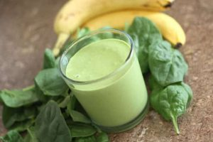 Banana and Spinach