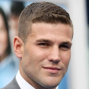 Crew cut hairstyle for men